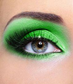 Neon makeup <3