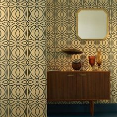 Graham & Brown Baroque Wallpaper | 2Modern Furniture & Lighting
