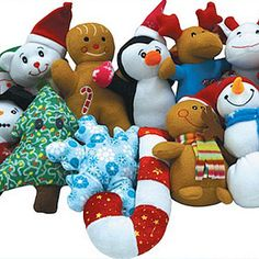 Christmas Non-Licensed Small Plush Mix 144 ct