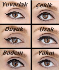 How to Apply Eyeliner to Accentuate Your Eyes Diy Beauty, Beauty Makeup, Beauty Hacks, Hair Makeup, Makeup 101, Makeup Looks, Eyeliner, Eyeshadow, Beautiful Henna Designs