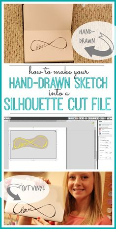 how to make your sketch into a silhouette file - - Sugar Bee Crafts
