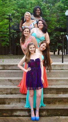 Girl group pose