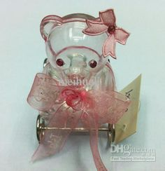 Wholesale 600 pcs transparent bear Favor plastic cup candy box, Free shipping, /Piece | DHgate