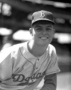 BASEBALL LEGEND...Don Drysdale - Brooklyn Dodgers