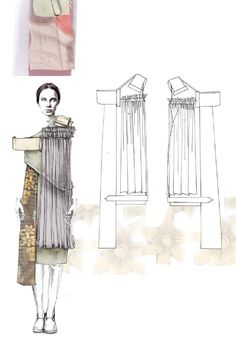 Fashion Sketchbook - fashion illustrations; graduate fashion portfolio // Emma Berry