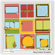 Template #freebie from Scrapping with Liz #scrapbook #digiscrap #scrapbooking #digifree #scrap