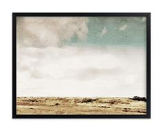"""It Happened in Monterey"" - Art Print by Maja Cunningham in beautiful frame…"