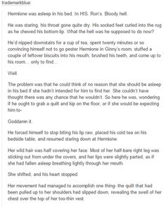 Ron and Hermione part 1