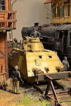 Train Depot By Modeler Jorchus123 1:35 Scale