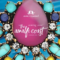 Summer is coming! Travel with us to The Amalfi Coast! http://www.chloeandisabel.com/boutique/rachelbri