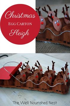 14 Rudolph Crafts for Christmas - Fun Crafts Kids Preschool Christmas, Noel Christmas, Christmas Crafts For Kids, Christmas Activities, Christmas Projects, Winter Christmas, Holiday Crafts, Holiday Fun, Christmas Ornaments