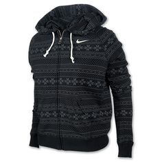 Nike Rally All Over Fairisle Full-Zip Women's Hoodie