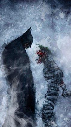 Batman & Joker.