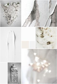 Moodboard in Whites Colour Story | Painting Grace