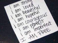 Body image isn't just about thighs, hips and waists. At its core, body image is about self-worth and self-respect. Here are tips to cultivate both. The Words, Freedom In Christ, Positive Body Image, I Am Beautiful, Self Esteem, Inspire Me, In This World, Positive Quotes, Positive Thoughts