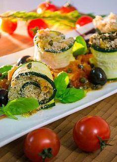Zucchini Involtini - Vegan genial