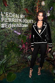 Shanina Shaik Photos Photos - L'Eden by Perrier-Jouet Opening Night in Partnership With Vanity Fair - Zimbio