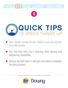 Speed it up with these quick tips