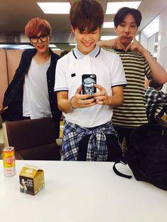 Suga, Jimin and J-Hope//BTS