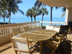 Condo on the beach! If you are interested in 180 degree panoramic views of the Gulf and the beach, this condo is for you! 4005 Gulf Shore Blvd N #106, Naples FL 34103. This home has 3 bedrooms and 2 baths -- and a 180 degree view from the 52-foot terrace of the beach and gulf.  $1,325,000. Email me at krisandra@napleshomeadvantage.com