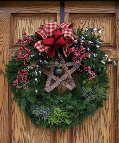 Montana Evergreen Wreath Plus