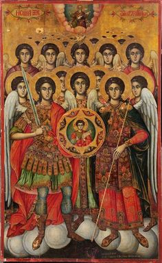 Monastery Icons, Greek Icons, Religion, Jesus Christ Images, Ancient Egyptian Art, Religious Icons, Orthodox Icons, St Michael, Christian Art