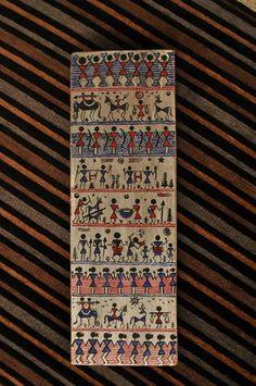 Warli 3 Maya - Craving to create Madhubani Art, Madhubani Painting, Traditional Paintings, Traditional Art, Worli Painting, Indian Arts And Crafts, Indian Folk Art, Indian Art Paintings, Art N Craft