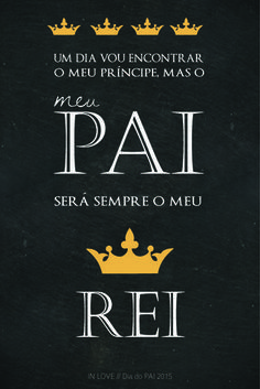 Dia do Pai com Amor // Free Printable //