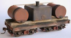 On30 industrial rolling stock kits