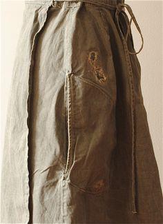 Hazel Brown — 14.1.16 denim apron dress