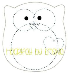 Image gallery for : felt template owl More Más Felt Owls, Felt Birds, Felt Animals, Owl Templates, Applique Templates, Applique Patterns, Owl Applique, Printable Templates, Felt Crafts Patterns
