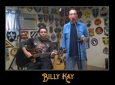 The Kay Boys in Golden Valley. One of those rare times father and son were in the same state at the same time!  All My Best, Billy Kay