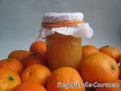 rezetas de carmen: Mermelada de mandarina y agua de azahar