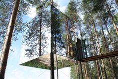 Mirrorcube Tree Hotel - Sweden
