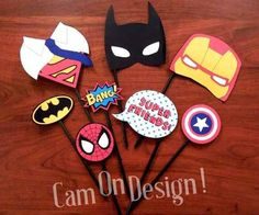 props p/ photo booth / cabina de fotos / carnaval - pack 30 Photo Booth, Prom 2016, Printables, Spring 2016, Diy, Wedding Ideas, Design, Carnival, Frases