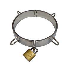 Edelstahl Halsband Halsreif mit O-Ring in 3 Größen wählbar (Ø 110 mm)