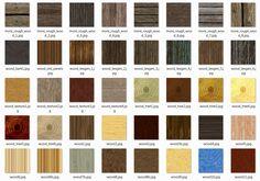 Gamedev -  40 Wood textures - CC0 License