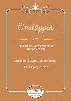 Einstüppen #Magdeburg
