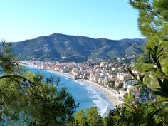 The bay of Alassio