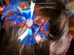 Sports Fan Bowdabra Hair Bow Tutorial