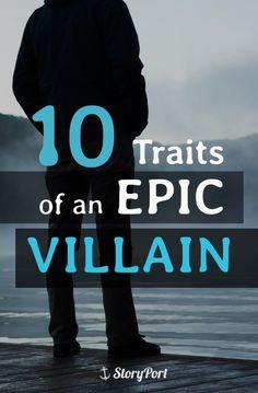 10 Traits of an Epic Villain