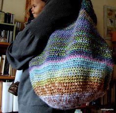 #crochet #bag @ clothogancho