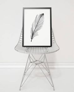 Feather print $69 - Perch Home
