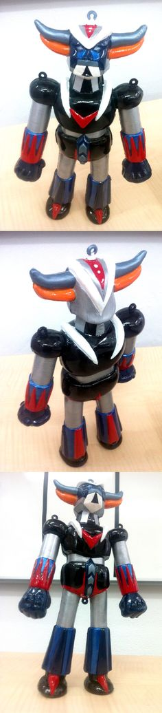 Work in progress (90%) du custom de Goldorak, Grendizer, Goldrake, UFOロボ・グレンダイザー