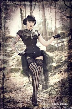 Model Muah Elegy Ellem Jewellery Birdcage Sinners And Saviours Corset Viola Lahger Photo Josefine Jnsson Find This Pin More
