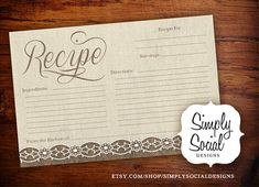 INSTANT DOWNLOAD Rustic Chic Burlap and by SimplySocialDesigns, $10.00