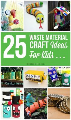1000 images about everything kids on pinterest for Waste to useful crafts