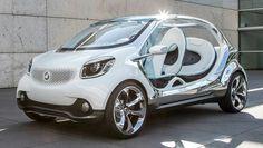 Al #Salone di #Francoforte è attesa la prima #concept #car a quattro posti, la #Smart #FourJoy. La Fourjoy, che anticipa la futura direzione del design Smart, si presenta in totale semplicità: linea futuristica, niente portiere, niente lunotto, niente tetto. È lunga 349 centimetri e monta un particolare #motore #elettrico da 75 cavalli (derivato dal #propulsore delle attuali #Smart #ForTwo #Electric #Drive)...  Leggi l'articolo intero https://www.facebook.com/photo.php?fbid=561535063896430