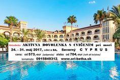 CVICENIE PRI MORI - POBYTY | NOVÉ: CYPRUS máj 2017 | CVICENIE PRI MORI, aktivna dovolenka pre ženy, Chorvatsko, Turecko, relaxacno-skraslovacie pobyty, wellness pobyty v kúpeľoch, PILATES v Bratislave, Cvičenie Zdravý chrbát, ORIFLAME registracia online Cyprus, Pilates, Louvre, Building, Travel, Pop Pilates, Viajes, Buildings, Destinations