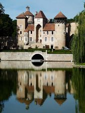 Castle of Sercy, France